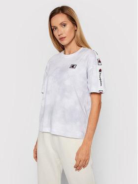Champion Champion T-Shirt 114761 Biały Custom Fit