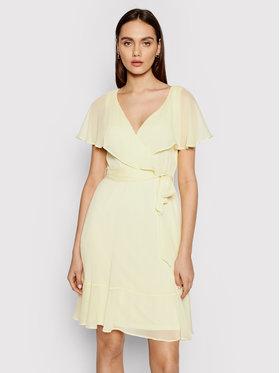 DKNY DKNY Ежедневна рокля DD1BI436 Жълт Regular Fit