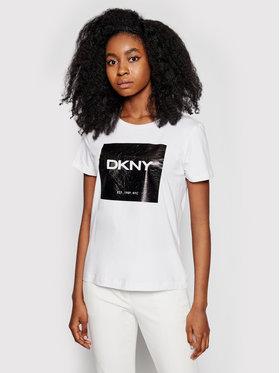 DKNY DKNY T-Shirt P1AUPDNA Bílá Regular Fit