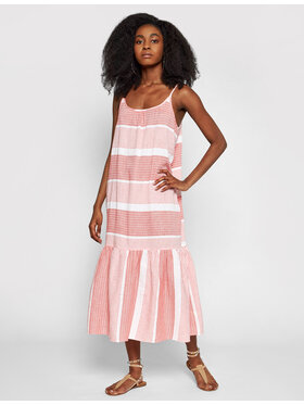 Seafolly Seafolly Rochie de vară Pacific Jacquard 54215-DR Roșu Relaxed Fit