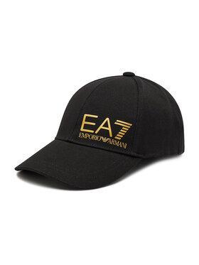 EA7 Emporio Armani EA7 Emporio Armani Καπέλο Jockey 275936 0P010 77520 Μαύρο
