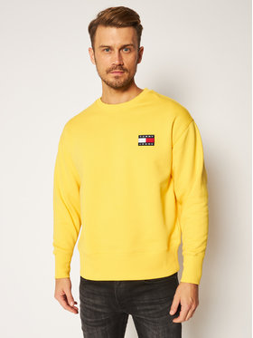 Tommy Jeans Tommy Jeans Mikina DM0DM06592 Žlutá Regular Fit