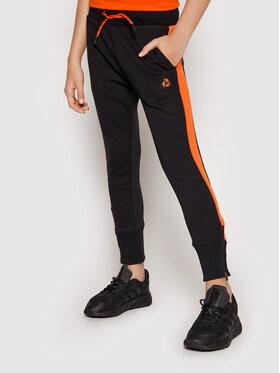 4F 4F Teplákové nohavice JSPMD003 Čierna Slim Fit