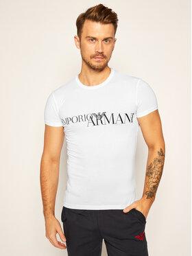 Emporio Armani Underwear Emporio Armani Underwear Tričko 111035 0A516 00010 Biela Slim Fit