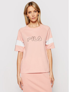 Fila Fila T-Shirt Jacklyn 683283 Rosa Regular Fit