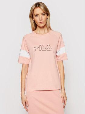 Fila Fila T-Shirt Jacklyn 683283 Ροζ Regular Fit