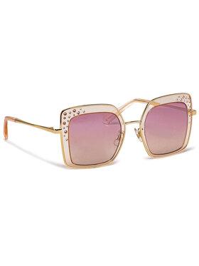 Swarovski Swarovski Okulary przeciwsłoneczne SK0324-H/S Złoty