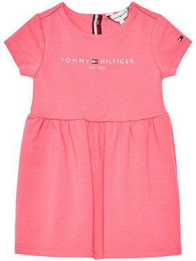 Tommy Hilfiger Tommy Hilfiger Každodenné šaty Essential KN0KN01304 Ružová Regular Fit