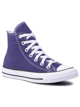 Converse Converse Кецове Ctas Hi 167630C Виолетов