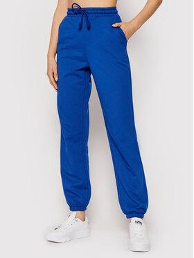 Vero Moda Vero Moda Spodnie dresowe 10251096 Niebieski Regular Fit