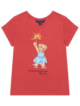 Polo Ralph Lauren Polo Ralph Lauren T-Shirt Bear Tee 313790444002 Rot Regular Fit