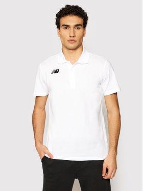 New Balance New Balance Polo marškinėliai NBMT71060 Balta Slim Fit