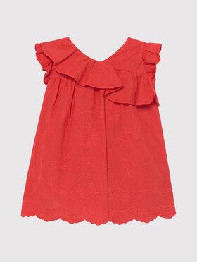 Mayoral Mayoral Každodenní šaty 1990 Červená Regular Fit