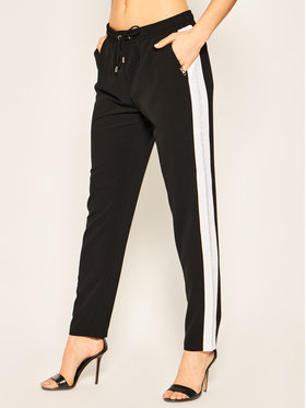 Liu Jo Sport Liu Jo Sport Pantalon en tissu TA0027 T8423 Noir Regular Fit
