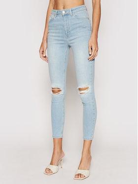 NA-KD NA-KD Jeans Destroyed 1660-000121-0047-581 Blau Skinny Fit