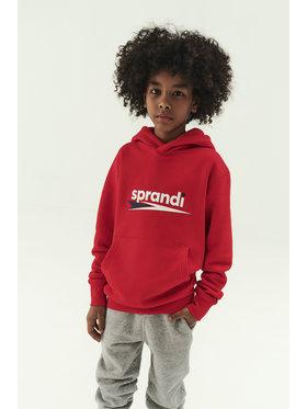 Sprandi Sprandi Sweatshirt SS21-BLK003 Rot Regular Fit