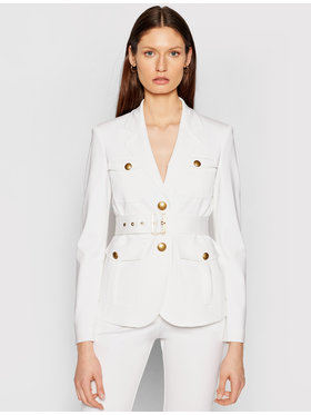 Pinko Pinko Blazer Trissa PE 21 BLK01 1G15S9 5872 Blanc Regular Fit