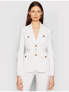 Pinko Pinko Blazer Trissa PE 21 BLK01 1G15S9 5872 Weiß Regular Fit