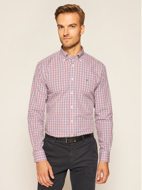 Tommy Hilfiger Tailored Tommy Hilfiger Tailored Cămașă Check TT0TT07584 Colorat Regular Fit