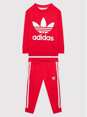 adidas adidas Dres adicolor H25251 Czerwony Standard Fit