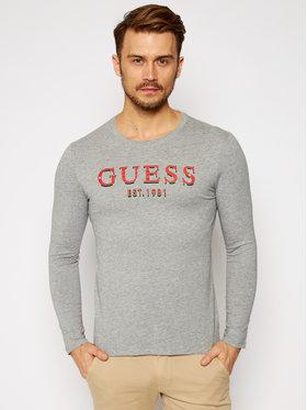 Guess Guess S dlhými rukávmi Front Logo M0BI68 I3Z00 Sivá Slim Fit