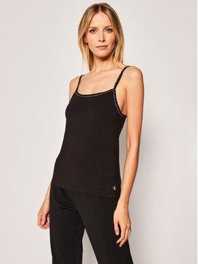 Calvin Klein Underwear Calvin Klein Underwear 2 marškinėlių komplektas Cami 000QS6440E Juoda Regular Fit