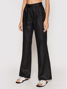 NA-KD NA-KD Pantaloni din material 1018-006750-0002-581 Negru Relaxed Fit