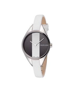 Calvin Klein Calvin Klein Часовник Lady K8P231L1 Бял