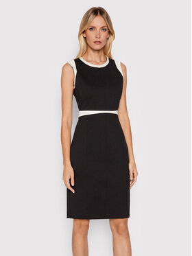Boss Boss Sukienka koktajlowa Deinada 50453615 Czarny Slim Fit