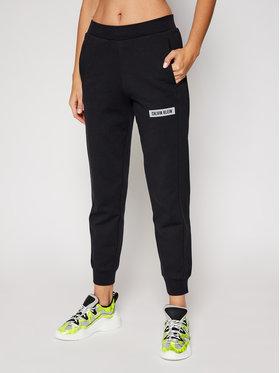 Calvin Klein Performance Calvin Klein Performance Spodnie dresowe 00GWH0P620 Czarny Regular Fit