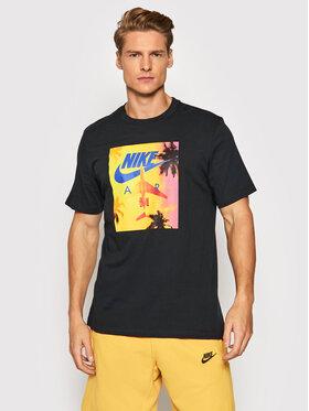 Nike Nike Тишърт Sportswear DJ1407 Черен Regular Fit