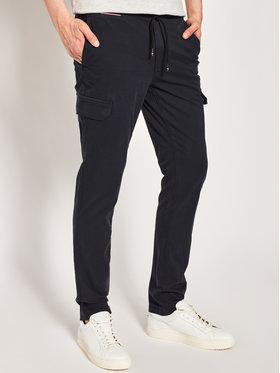 Tommy Hilfiger Tommy Hilfiger Текстилни панталони Denton Cargo Light Stretch Twill MW0MW13682 Тъмносин Straight Fit