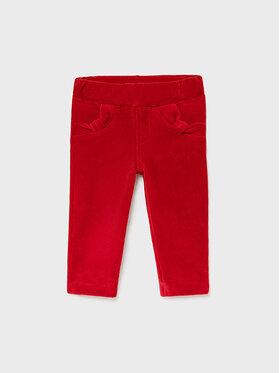 Mayoral Mayoral Spodnie materiałowe 514 Czerwony Super Skinny Fit