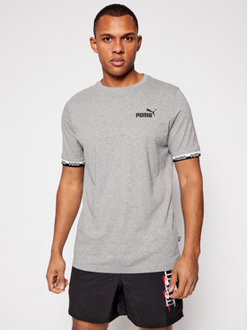 Puma Puma T-Shirt Amplified 585778 Šedá Regular Fit