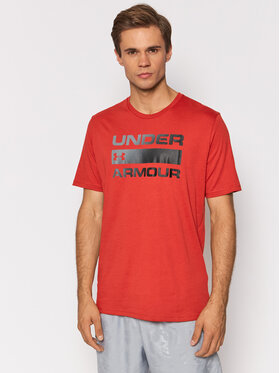 Under Armour Under Armour Tricou Ua Team Issue Wordmark 1329582 Negru Loose Fit