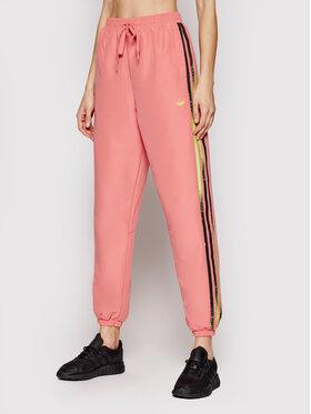 adidas adidas Teplákové kalhoty Fakten GN4391 Růžová Regular Fit