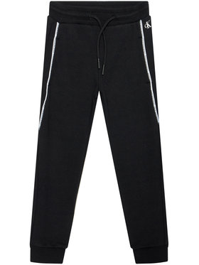 Calvin Klein Jeans Calvin Klein Jeans Pantalon jogging Logo Piping IB0IB00711 Noir Regular Fit