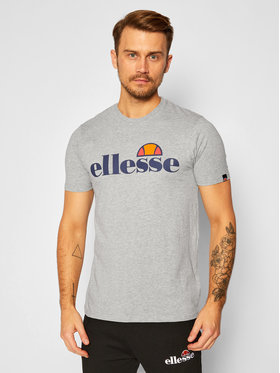 Ellesse Ellesse T-Shirt Sl Prado SHC07405 Šedá Regular Fit