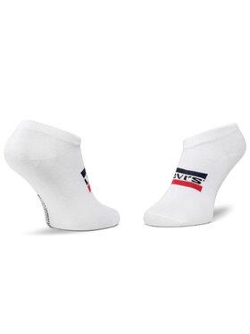 Levi's® Levi's® Sada 2 párů nízkých ponožek unisex 37157-0164 Šedá