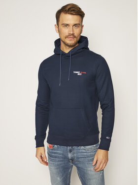 Tommy Jeans Tommy Jeans Μπλούζα Chest Graphic DM0DM08730 Σκούρο μπλε Regular Fit