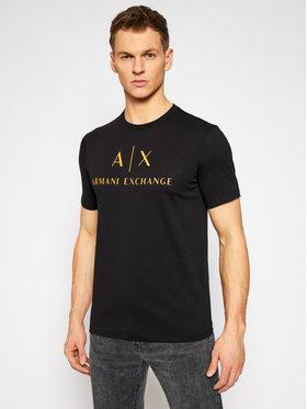 Armani Exchange Armani Exchange T-shirt 8NZTCJ Z8H4Z 2268 Crna Slim Fit