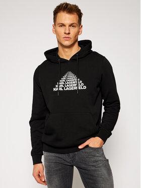KARL LAGERFELD KARL LAGERFELD Sweatshirt Sweat Hoody 705010 502910 Noir Regular Fit