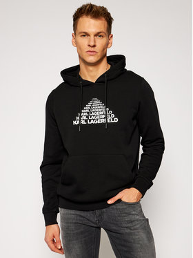 KARL LAGERFELD KARL LAGERFELD Sweatshirt Sweat Hoody 705010 502910 Schwarz Regular Fit