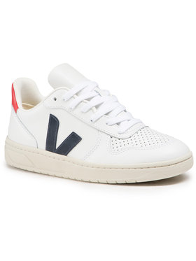 Veja Veja Αθλητικά V-10 Leather VX021267A Λευκό