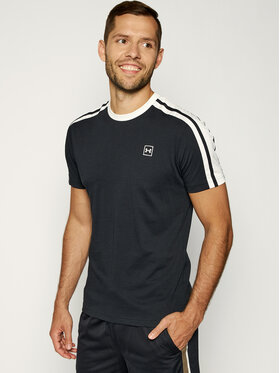 Under Armour Under Armour T-Shirt Ua Unstoppable Striped 1329276 Černá Loose Fit