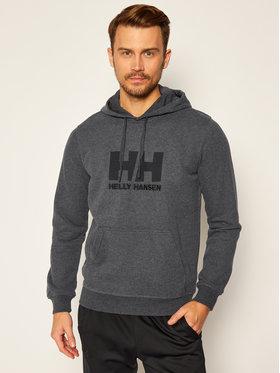 Helly Hansen Helly Hansen Bluza Hh Logo 33977 Szary Regular Fit