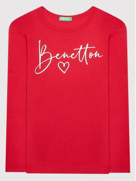 United Colors Of Benetton United Colors Of Benetton Блуза 3I9WC15BM Червен Regular Fit