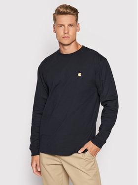 Carhartt WIP Carhartt WIP Sweatshirt L/S Chase I026392 Bleu marine Loose Fit