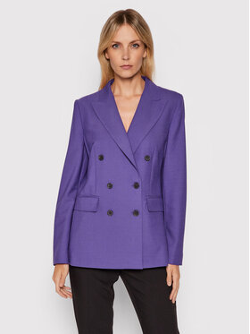Marella Marella Sakko Maille 30460416200 Violett Regular Fit