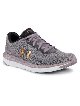 Under Armour Under Armour Buty Ua W Charged Impulse Knit 3022603-500 Fioletowy